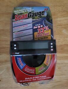 ScanGauge II Ultra Compact 3in1 Automotive Computer OBD2 OBD II Scan Gauge NEWOB