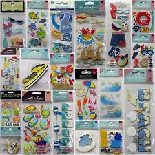 Jolee's etc💕Vacation Beach Sun Scrapbook Stickers Sea Pool Ocean Summer