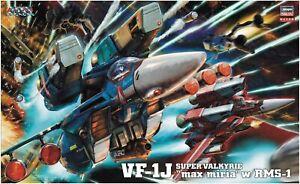 Hasegawa 1/48 Macross VF-1J Super Valkyrie  Max Miria w/RMS-1 Plastic Model Kit