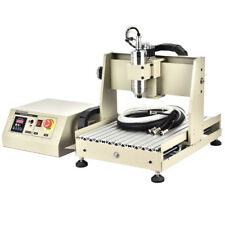 800W CNC ROUTER ENGRAVER ENGRAVING CUTTER 4 AXIS 3040 B-SCREW DESKTOP 3D CUTTING
