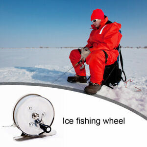 Mini Portable Ice Fishing Reel for Winter Lake River Ice Fly Fishing Rods SU