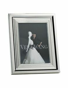 ❀ڿڰۣ❀ WEDGWOOD VERA WANG With Love SILVER PLATED PHOTO / PICTURE FRAME ❀ڿڰۣ❀