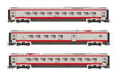 HL4670 Lima Expert Set Additional 3 Coaches ETR 601 FS FRECCIA Silver