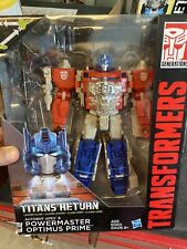 Titans Return 2015 Powermaster Optimus Prime with Apex MISP Leader Class
