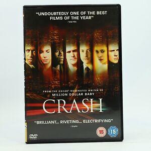 CRASH Sandra Bullock Ryan Phillipe Matt Dillon Ludacris DVD R2 GC