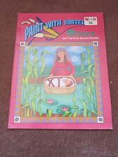 Vintage Landolls Paint with Water MOSES Bible Story 1994 NEW Unused Art Activity