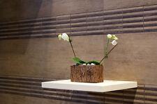 £14.39/m2 Porcelain Tile Brown Wood Effect 60X60 Wall Floor Kitchen Bathroom