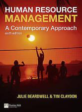Human Resource Management: A Contemporary Approach by Beardwell, Julie