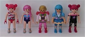 Playmobil    5 x Assorted EverDreamerz Figures  Good Condition