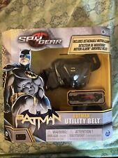 SPY GEAR BATMAN UTILITY BELT with Detachable MOTION ALARM Belt Buckle