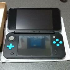 Nintendo 2DS XL (2DS LL) Black Turquoise Handheld Console w/ 3 Installed games
