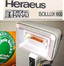 SOLLUX 600 orig Hanau Lampe Infrared Heater Lampe Rotlicht Wärme Physio Therapie