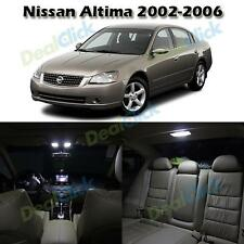 7pcs White LED Interior Package Fit for Nissan Altima 2002-2006