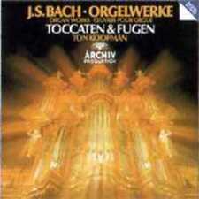 Ton Koopman / J.S Bach - Toccaten & Fugen CD NEU