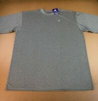 Champion Men's Big & Tall Size 2XLT Charcoal Heather Gray Double Dry Tee NWT