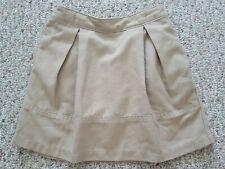 Lands' End Little Girls Beige Uniform Skort & Long Pants - Size Us 4 & 5