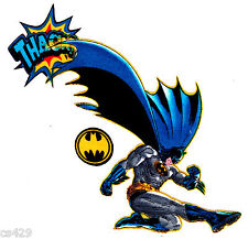 "6"" Batman comics super hero fabric applique iron on character"