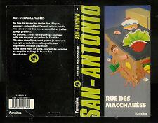 """San-Antonio : Rue des macchabées """" Editions Fleuve Noir - N° 4 """""""