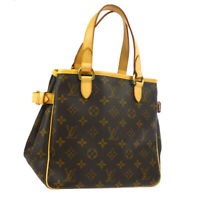 LOUIS VUITTON BATIGNOLLES HAND TOTE BAG MONOGRAM CANVAS M51156 SP0016 AK42322