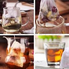 100-Pack Cotton Muslin Drawstring Reusable Bags Bath Soap Herbs Tea 8x10cm T