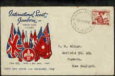 1948 AUSTRALIA  2 1/2d Scouting FDC