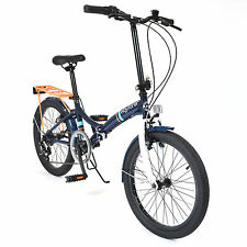 "20"" Wayfarer bicicleta plegable - Viajero Ciudad en azul marino (hombre) NUEVO"