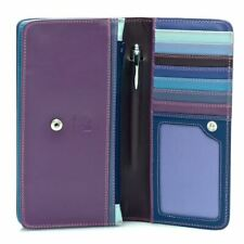 Leather Medium Matinee Purse/Wallet - MyWalit - Sweet Violet
