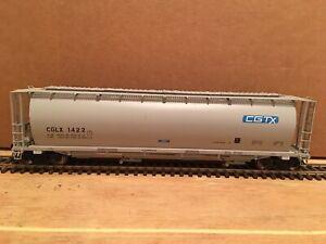 HO Intermountain CGTX 4-Bay Cylindrical Covered Hopper CGLX #1422 NS CSX BNSF UP
