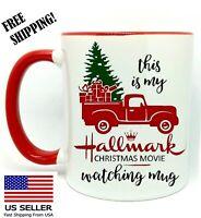 Hallmark Christmas Movie, Christmas Gift Red Mug 11 oz Coffee/Tea