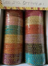 New Indian Bollywood  Wedding  Bangles Fashion Jewelry Size 2.12 Free Ship