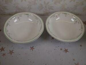 2 Royal Doulton Caprice Cereal/Dessert Bowl