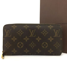 Authentic Louis Vuitton Monogram Zippy Zip Around Long Wallet purse /511AB