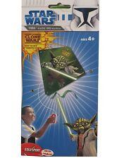 STAR WARS, the Clone Wars Drachen Yoda , 62x62cm Kite/ Flug Drache NEU