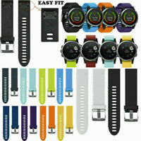 Für Garmin Fenix 5S Silikon Ersatzband Quick Lock Armband Uhrenarmband Strap