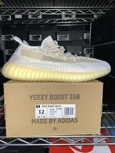 Size 12 - adidas Yeezy Boost 350 V2 Natural 2020 SHIPS UPS SAME DAY 🚚💨 TRUSTED