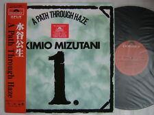 KIMIO MIZUTANI A PATH THROUGH HAZE / UN-PLAYED WITH OBI JAPAN PROG RE P-VINE