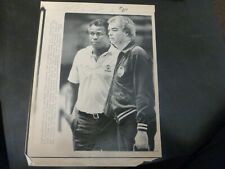 Vintage Wire Press Photo-K.C.Jones Practice Game 7 Boston Celtics 6/12/1984
