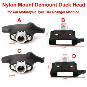 Tire Tyre Changer Machine Nylon Mount/Demount Duckhead Plastic Head 28mm/30mm