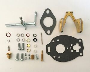 Allis Chalmers CA D14 D15 Tractor TSX 670 701 815 & 844 Carburetor Kit w/ Float