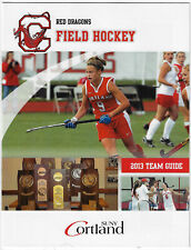 New listing RARE 2013 Cortland Dragons College Field Hockey Guide Schedule !!! 8 1/2 x 11