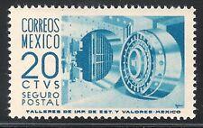 pa094a Mexico Arquite MNH paper 2 Sc#G15 Mc#PZd15 Et#aa094a blue-cobalt