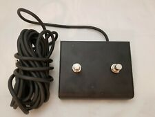 "FOOTSWITCH FOOT SWITCH FITS PEAVEY ¼ "" PLUG TWO BUTTON GUITAR & BASS AMPLIFIERS"