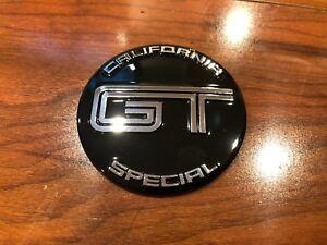 2010 2012 2013 2014 FORD MUSTANG GT/CS CALIFORNIA SPECIAL STEERING WHEEL EMBLEM
