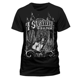 Official My Chemical Romance I Survived The Black Parade T Shirt MCR  L XL XXL
