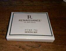 vintage Renaissance Tel Aviv Hotel Pocket  Sewing Kit Israeli Israel Collectible