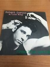 "Robert Gordon with Link Wray "" Fresh Fish Special' LP"