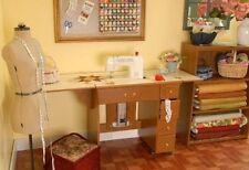 ARROW 98900 Auntie Oakley Sewing Cabinet w/AIR LIFT OAK