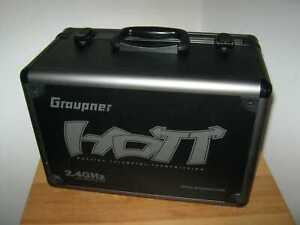 Original Graupner MX 24 Senderkoffer für Fernsteuersender / Alukoffer Handsender