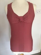 a6bad458c337e Ted Baker Ladies Striped Sleeveless Top Size 2. Great Condition.