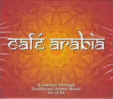 CAFÉ ARABIA - VARIOUS ARTISTS (NEW SEALED 2CD)